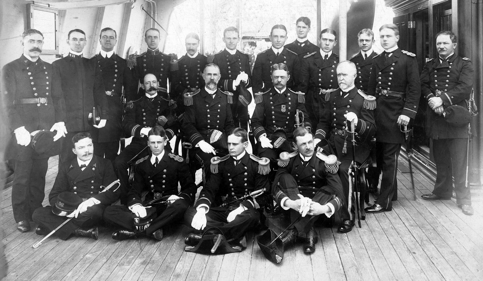 Officers, USS Chicago